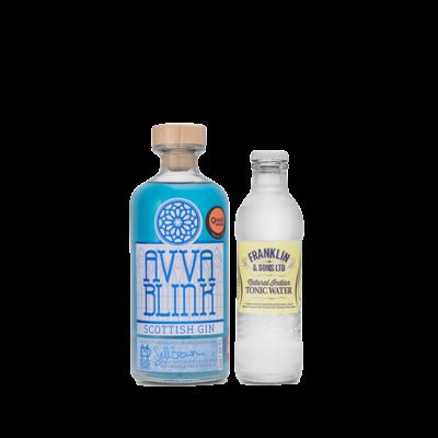 Avva Scottish Gin - 50cl-Blink-+-Tonic