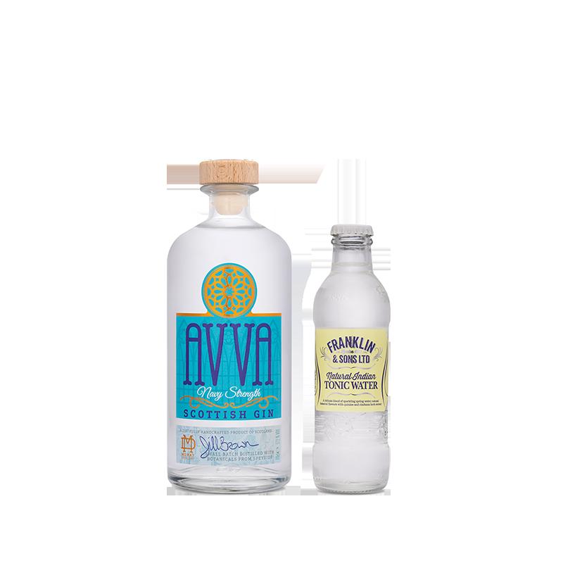 Avva Scottish Gin - Navy & Tonic