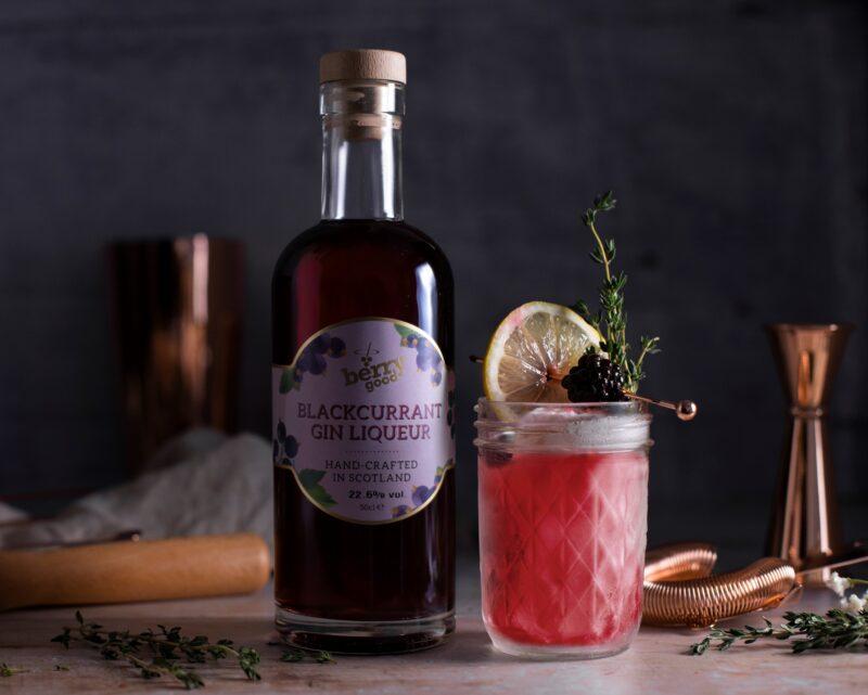 Avva Scottish Gin - Blackcurrant