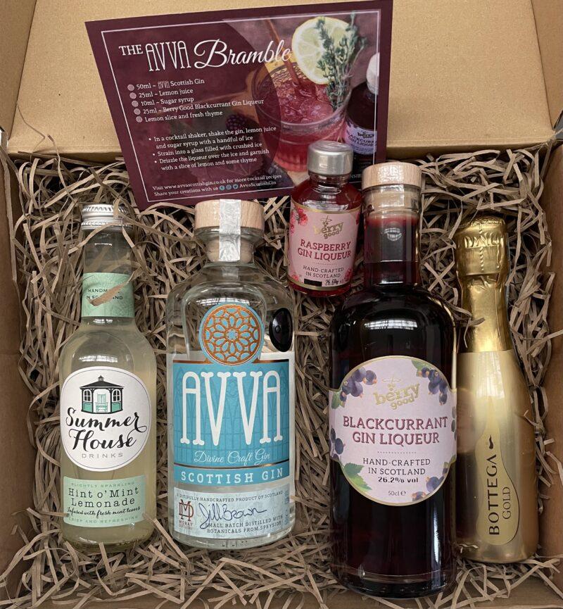 Avva Scottish Gin - Bramble Box