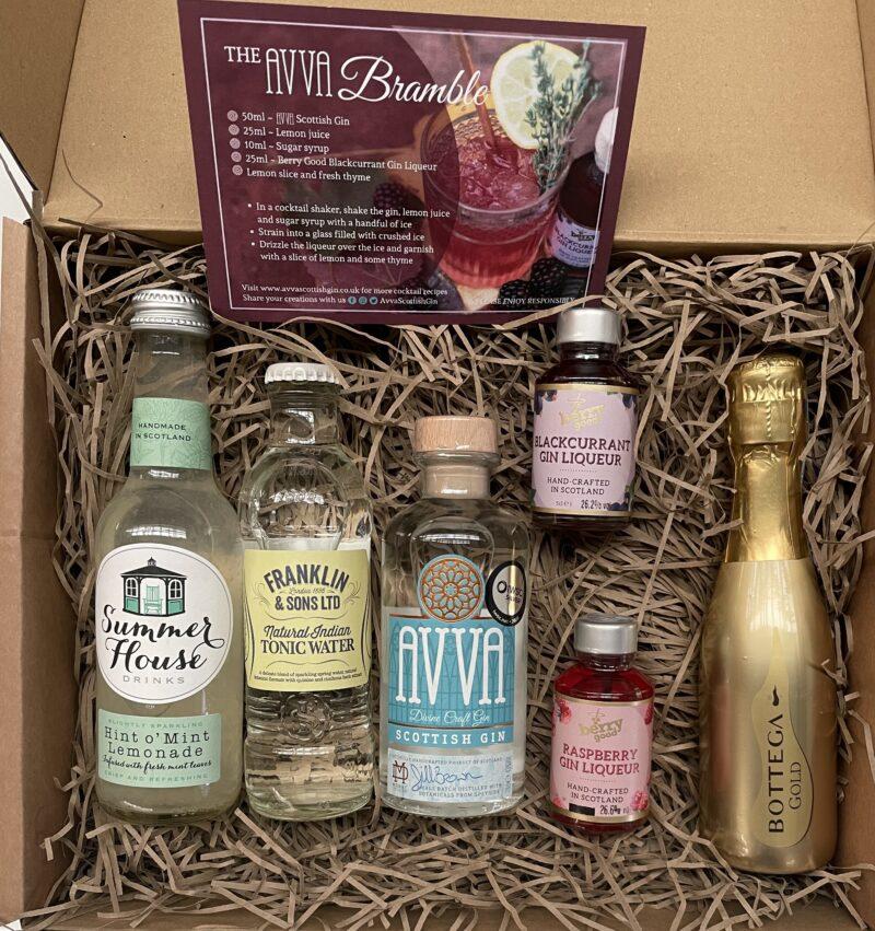 Bramble Berry Bubble Small Cocktail Box