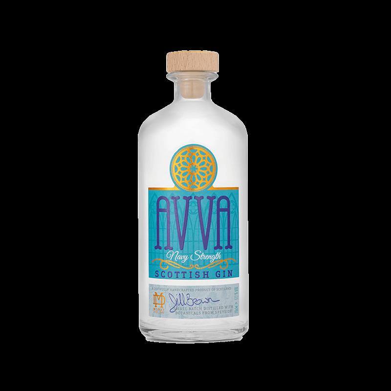 Avva Scottish Gin - NAvy Strength 70cl